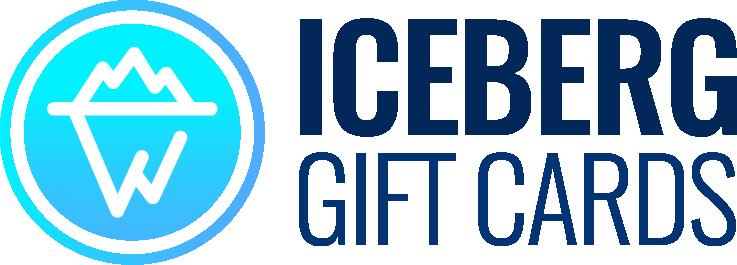Iceberg Gift Cards Logo, iceberggiftcards.com